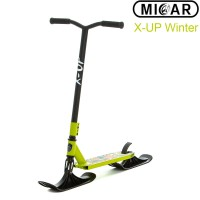 Зимний самокат на лыжах Micar X-Up Winter Зелёный