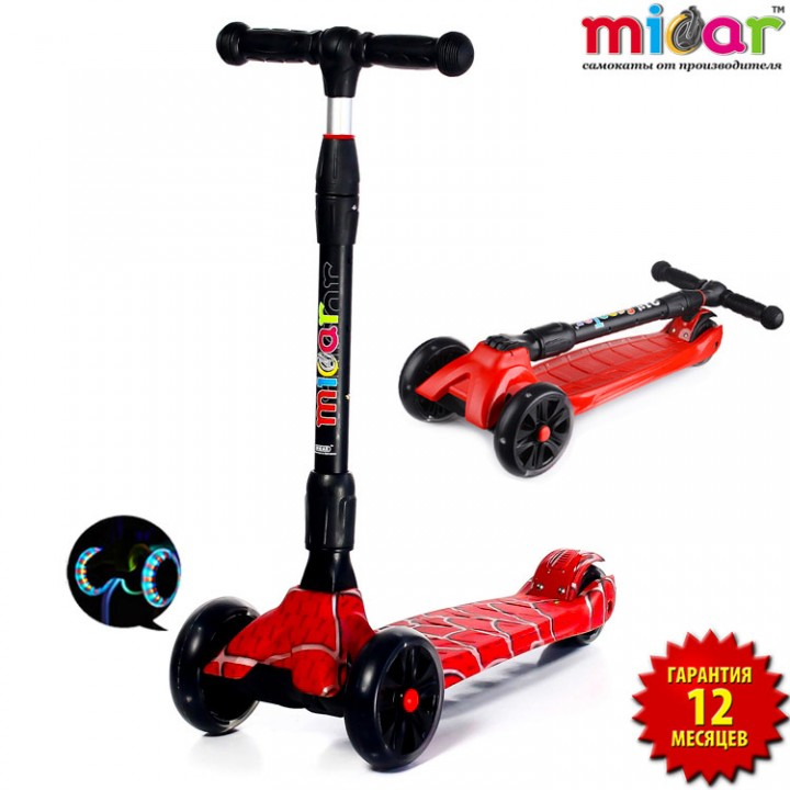 Самокат Scooter Maxi MICAR Ultra Spider